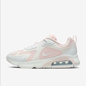Nike Airmax 200 New in box, light pink and white
